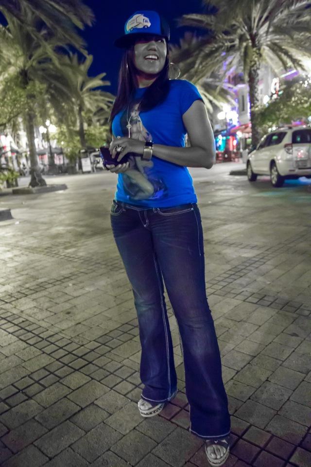 Urban artist P LA Cangri
