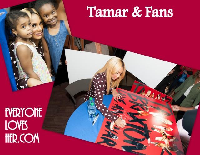 Tamar Braxton album release, NYC