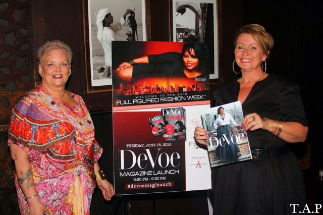DeVoe Magazine Launch Party NYC